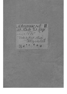 Трио-соната для флейты (или скрипки), виолы да гамба и бассо континуо No.5: Трио-соната для флейты (или скрипки), виолы да гамба и бассо континуо No.5 by Иоганн Кристоф Пепуш