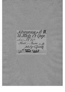 Трио-соната для двух флейт и бассо континуо ля минор, QV 2:41a: Трио-соната для двух флейт и бассо континуо ля минор by Иоганн Иоахим Квантц