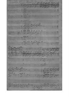Кончерто гроссо фа мажор, SeiH 232 Hwv I:17: Кончерто гроссо фа мажор by Иоганн Давид Хайнихен