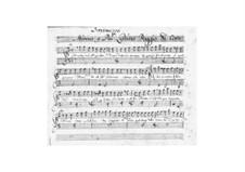 Цезарь Александрийский: Интермеццо I by Джузеппе Антонио Винченцо Альдровандини