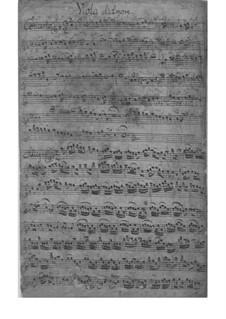 Концерт ми мажор, TWV 53:E1: Концерт ми мажор by Георг Филипп Телеманн