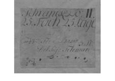 Трио-соната для виолы д'амур, флейты и бассо континуо ре мажор, TWV 42:D15: Трио-соната для виолы д'амур, флейты и бассо континуо ре мажор by Георг Филипп Телеманн