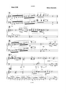 Soneto No.1, Op.2: Soneto No.1 by Nikolas Giamalis
