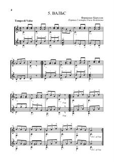 Вальс (дуэт): Вальс (дуэт) by Фердинандо Карулли