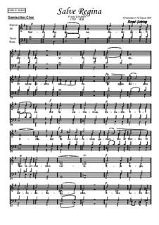Salve Regina, D.386: Клавир с вокальной партией by Франц Шуберт