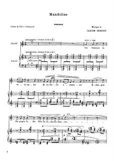 Мандолина, L.29: До мажор by Клод Дебюсси