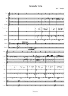 Saturnalia Song: Saturnalia Song by Дэвид Соломонс