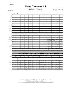 Piano Concerto No.1: Часть III by Gary Edwards