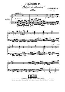 Movimento No.1 Preludio in re minore, CS011 No.1: Movimento No.1 Preludio in re minore by Santino Cara