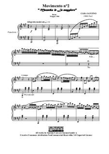 Movimento No.2 Mazurka in la maggiore, CS011 No.2: Movimento No.2 Mazurka in la maggiore by Santino Cara