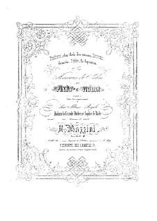 Шесть салонных пьес, Op.20: Шесть салонных пьес by Антонио Бадзини