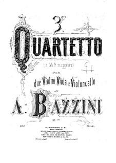 Струнный квартет No.3 ми-бемоль мажор, Op.76: Партии by Антонио Бадзини
