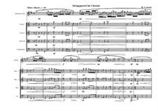 String Quartet for Clarinet in Bb, MVWV 226: String Quartet for Clarinet in Bb by Maurice Verheul