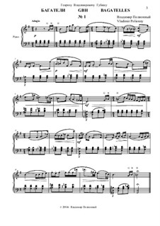 50 Bagatelles GBH: Багатель No.1 by Владимир Полионный