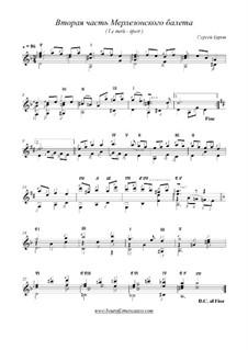 Вторая часть Мерлезонского балета, Op.10: Вторая часть Мерлезонского балета by BOUROFF