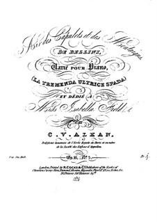 Вариации, Op.16: No.5 Variations sur un thème de Bellini by Шарль Валантен Алькан