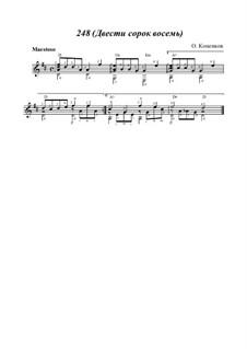Сюита 'Магия чисел', Op.15: No.3 248 (Двести сорок восемь) by Олег Копенков
