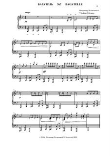50 Bagatelles GBH: Багатель No.7 by Владимир Полионный