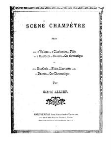 Scène Champêtre: Scène Champêtre by Габриэль Алье