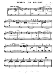 50 Bagatelles GBH: Багатель No.11 by Владимир Полионный