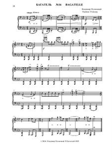 50 Bagatelles GBH: Багатель No.16 by Владимир Полионный