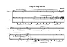 Duo No.13 for Clarinet in A and Piano, MVWV 597: Duo No.13 for Clarinet in A and Piano by Maurice Verheul