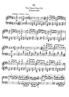 Три пьесы для фортепиано: No.3 The Dance Goes On by Эдвард Григ