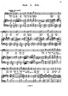 La vendetta: Для голоса и фортепиано by Вольфганг Амадей Моцарт