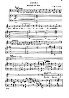 Иеффай, HWV 70: Recitative and Aria 'Farewell, Ye Limpid Springs and Floods' by Георг Фридрих Гендель