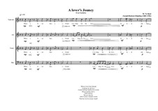 A lover's Jouney a Choir piece on the lyrics of Joseph Rudyard Kipling, MVWV 670: A lover's Jouney a Choir piece on the lyrics of Joseph Rudyard Kipling by Maurice Verheul