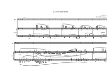 Song for Bass and piano No.11 on a poem of Daniel Lesueur, MVWV 193: Song for Bass and piano No.11 on a poem of Daniel Lesueur by Maurice Verheul