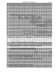 Symphony No.1, MVWV 203: Symphony No.1 by Maurice Verheul