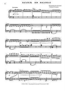 50 Bagatelles GBH: Багатель No.30 by Владимир Полионный