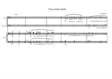 Trio No.3 for Flute, Bassoon and Piano, MVWV 62: Trio No.3 for Flute, Bassoon and Piano by Maurice Verheul