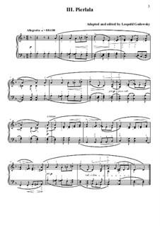 Нидерландская сюита: No.3 Pierlala by folklore