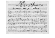L'Alessandro Bala: Акт II by Петро Андреа Дзиани