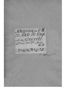 Концерт для скрипки с оркестром ре мажор, TWV 53:D5: Концерт для скрипки с оркестром ре мажор by Георг Филипп Телеманн