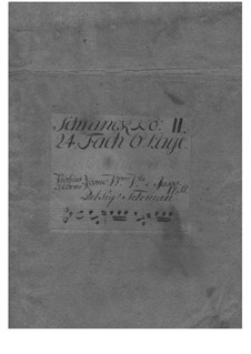 Концерт для скрипки с оркестром ре мажор, TWV 54:D2: Концерт для скрипки с оркестром ре мажор by Георг Филипп Телеманн