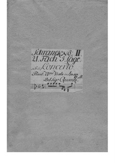 Концерт для двух флейт с оркестром соль минор, QV 6:8: Концерт для двух флейт с оркестром соль минор by Иоганн Иоахим Квантц