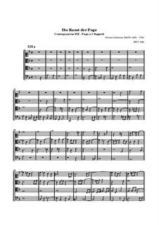 Искусство фуги, BWV 1080: No.19 (Неоконченная) by Иоганн Себастьян Бах