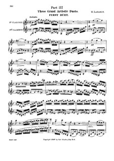 A New and Modern Method for Clarinet. Movement III: A New and Modern Method for Clarinet. Movement III by Henry Lazarus
