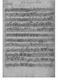 Концерт для двух валторн с оркестром ми-бемоль мажор, TWV 52:Es1: Концерт для двух валторн с оркестром ми-бемоль мажор by Георг Филипп Телеманн