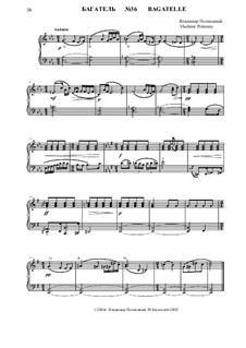 50 Bagatelles GBH: Багатель No.36 by Владимир Полионный