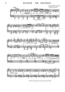 50 Bagatelles GBH: Багатель No.38 by Владимир Полионный