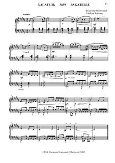 50 Bagatelles GBH: Багатель No.39 by Владимир Полионный