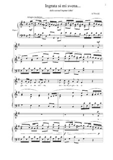 Ingrata Lidia, RV 673: Ingrata si mi svena by Антонио Вивальди