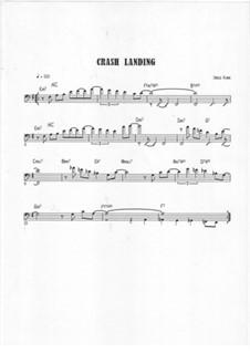 Crash Landing: Bass clef version by Jared Plane
