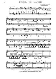 50 Bagatelles GBH: Багатель No.42 by Владимир Полионный