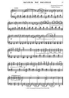 50 Bagatelles GBH: Багатель No.43 by Владимир Полионный