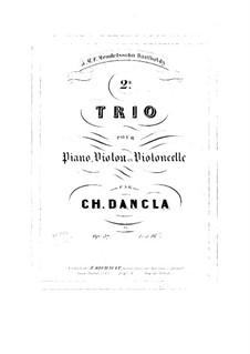 Фортепианное трио No.2, Op.37: Фортепианное трио No.2 by Шарль Данкла